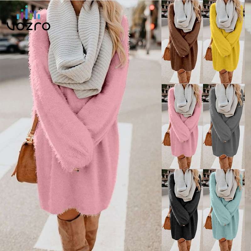 VOZRO 2019 Long Fund Long Sleeve Round Neck Lint Sexy Winter Maxi Autumn Bodycon Dress Women Vestidos Clothes Befree Vintage