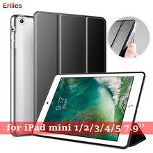 Trifold Stand Case for iPad Mini 4 5 PU Leather Auto Sleep/Wake Apple mini 1 2 3 Shockproof Funda