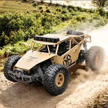 BG1527 2.4Ghz RC Car 1/16 Alloy Off-Road Climbing Remote Control Cars Electric High-Speed Military Truck Big Foot RC Toy For Boy 2 4g remote control climbing model car kids rtr 1 16 remote control military truck 4 wheels drive off road rc model boy gift toy