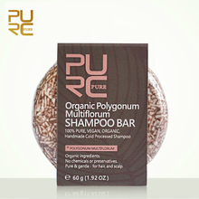PURC Organic Polygonum Shampoo Bar 100% PURE and Polygonum Handmade Cold Processed Hair Shampoo No Chemicals Or Preservatives
