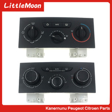 LittleMoon New original air conditioner switch Air conditioning control panel knob for Citroen  C4 Pallas Triumph Peugeot 307