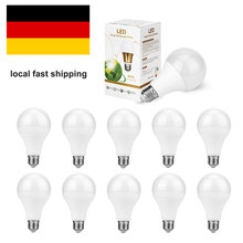 10pcs/pack led Bulb lamps E27 E14 Led Light 3W 5W 7W 12W 15W High Power Bombillas Spotlight AC 220V 230V 240V Lamparas