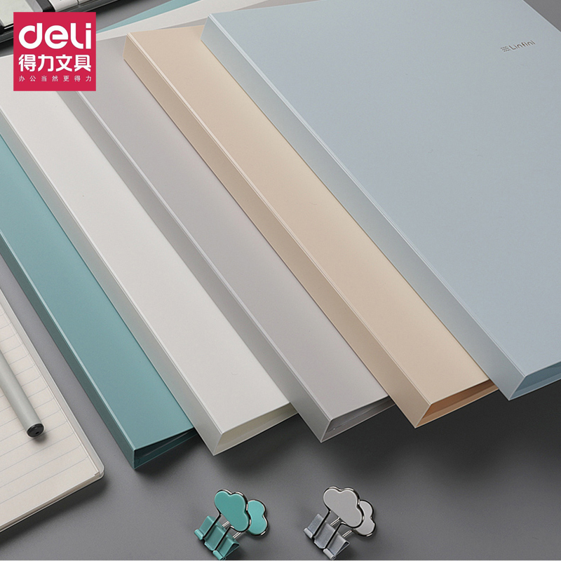 Deli A4 Music Folder Can Modify The Transparency And Non-reflection Of Loose-leaf Multi-layer Insert Files 72411