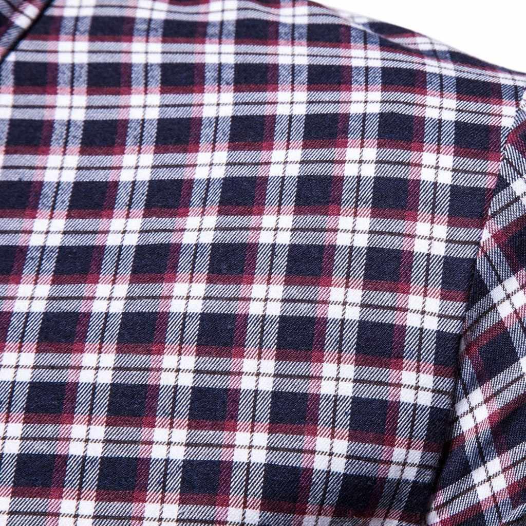 メンズカジュアル半袖カジュアルチェック柄プリントアロハシャツブラウスシャツ夏コットンリネンシャツストリート