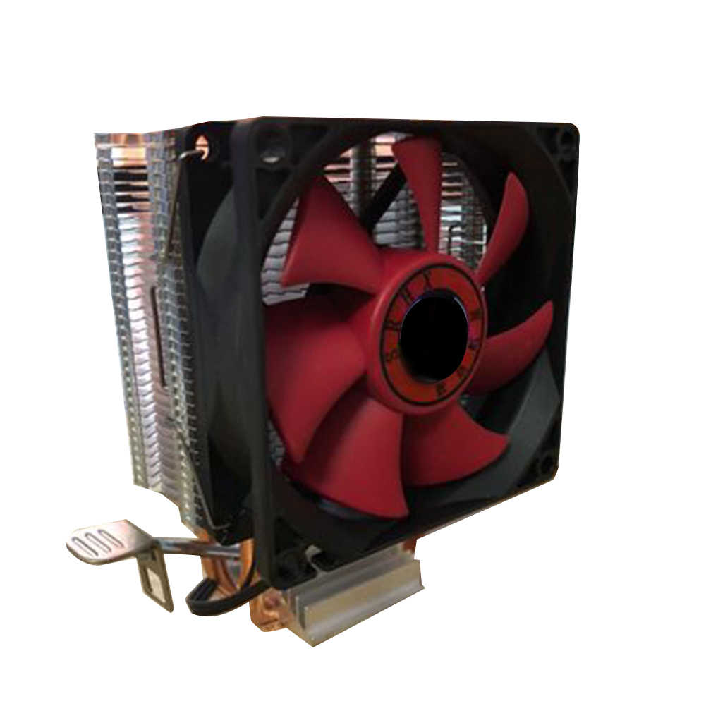 وحدة المعالجة المركزية برودة المبرد أنبوب تدفِئة LED AMD إنتل الصامتة 3Pin PC غرفة تبريد وحدة المعالجة المركزية مروحة LGA/1150/775/ 1151/1155/1156/AM3/AM4