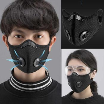 6pcs Activated bamboo carbon 5-layer filter masks face Masks Prevent bacteria Anti-dust Safe PM2.5 protective mask