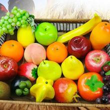 Искусственный пенопласт пластик фрукты реалистичные фрукты фотография Реквизит вечерние дома рынок столбы Висячие крыши Декор