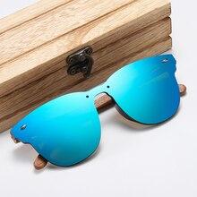 GM брендовые дизайнерские женские солнцезащитные очки мужские ореховые деревянные оправы поляризованные зеркальные Объективы для вождения UV400