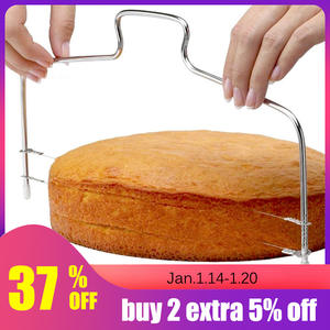 Cake-Baking-Tools Slicer Cake-Cutter Kitchen-Accessories Adjustable-Wire Stainless-Steel
