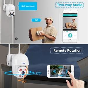 Image 3 - Kerui Dome IP Camera HD1080P WIFI Alarm IP Camera PTZ Rotation Home Security Surveillance With IR Night Vision Motion Detection