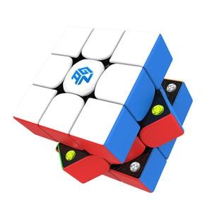 Оригинальный GAN 356 м куб Gan356 м липкий 3x3 скоростной куб магнитный Профессиональный скоростной куб GAN356M 3х3 Ган 356 м развивающая игрушка
