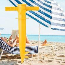 Umbrella-Stand Ground-Anchor-Holder Fishing-Parasol Sun-Beach Spike VA88 Adjustable Newly