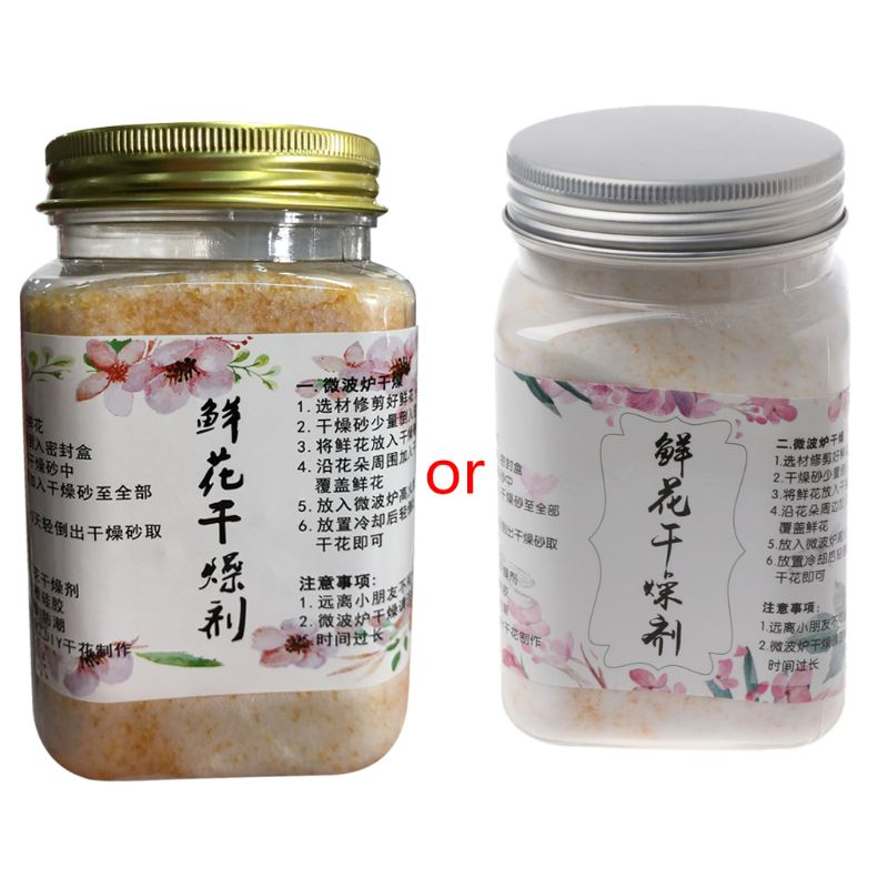 Reusable Silica Gel For Preserve Flower Drying DIY Craft  Food Grade 0.55 Pound AXYD