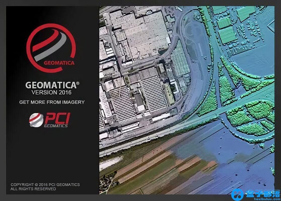 Geomatica 2016 功能强大的遥感图像处理软件