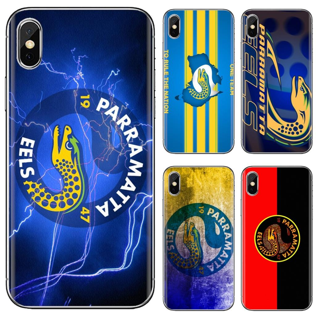 Soft Tpu Silicone Phone Cases Bags For Sony Xperia Z5 Xz Xa1 Xa2 Premium Ultra 10 X L2 Parramatta Eels Australian Rugby Fitted Cases Aliexpress