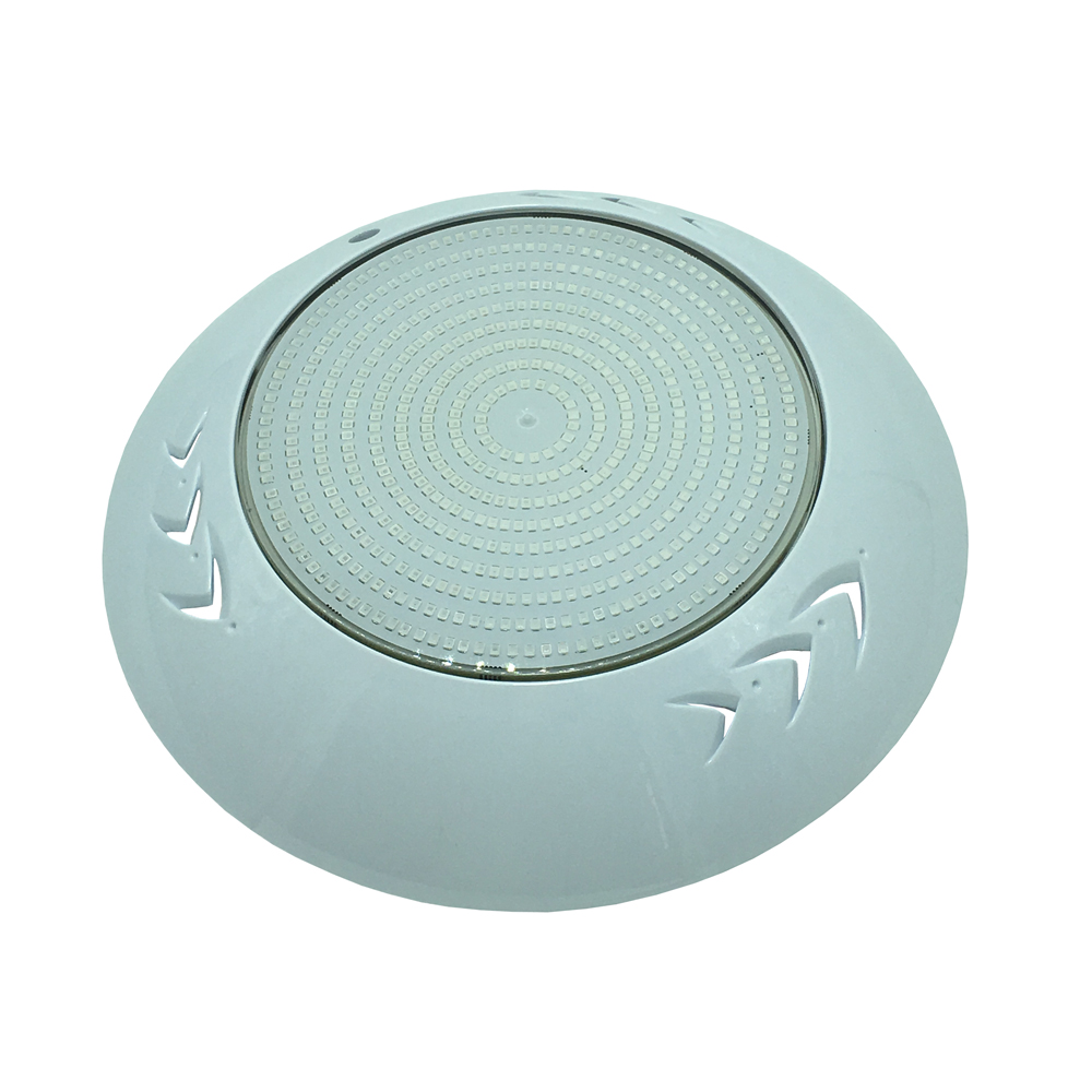 18W 24W 30W 35W 42W Spot LED Exterieur Piscine Resin Filled Surface Mounted Flat RGB Underwater Pool Light Warm White Cold White