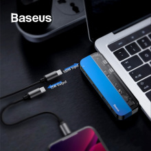 Baseus USB HUB to Dual 3.0 C for MacBook Pro 4K HD PD Surface HDMI Thunderbolt 3 Multi Type Splitter