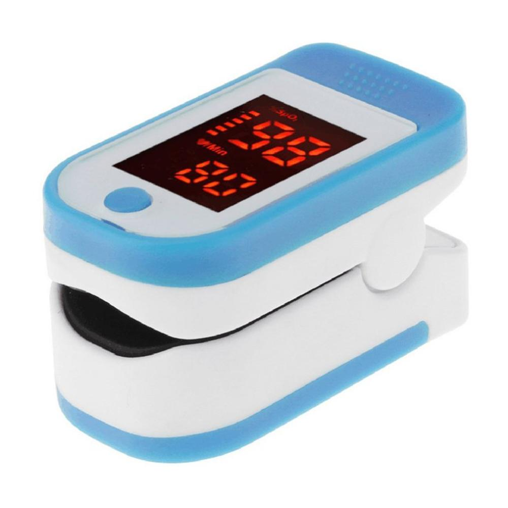Pulse Oximeter Monitor Finger Pulse Oxymeter Digital Oxygen Meter Clip Type Spo2 Pr Sensor Oled Display Pulse Oximeters In Stock