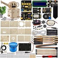 Keyestudio PLUS Bord Automatische Bewässerung Blume System Learning Kit für Arduino Starter Kit STEM DIY Projekte Programmierung Kit
