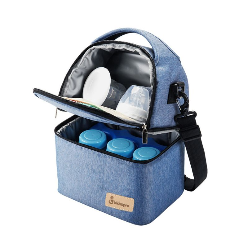 Breast Milk Storage Bag Multi-Function Bottle Cooler Bag Mummy Bag Fresh-keeping Cooler Bags For Baby Care Mom & Kids