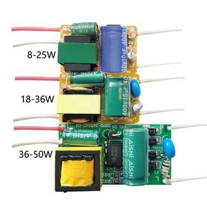8W 18W 25W 36W 50W 300mA LED Driver 60W 80W 600mA Constant Current Light Transformer AC175-265V Power Adapter For LED Bulb DIY(China)