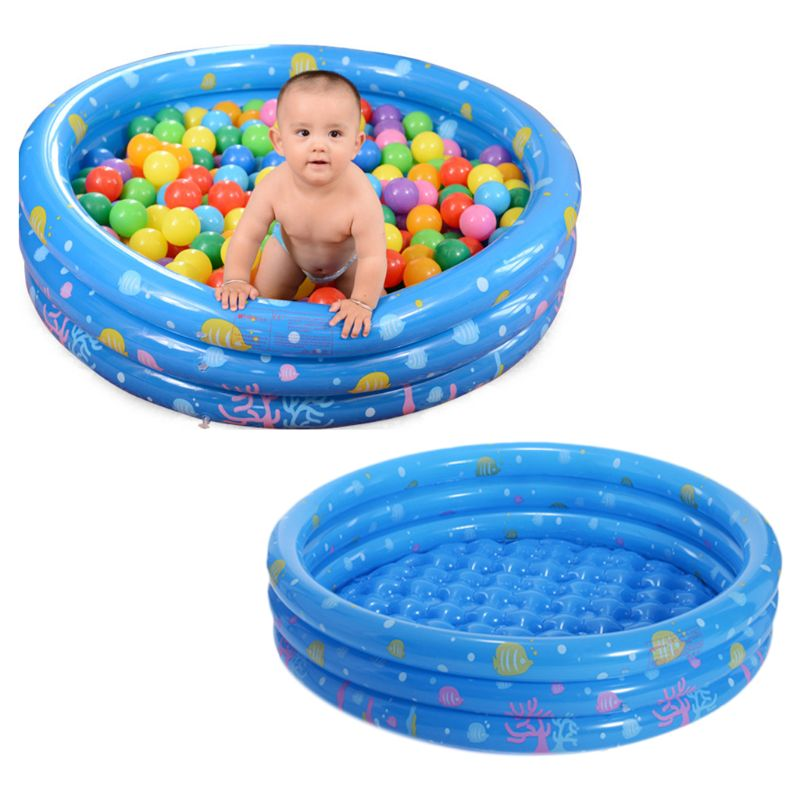 Tricyclic Baby Inflatable Swimming Pool Inflatable Portable Outdoor Home Use Large Children Kids Round Tub