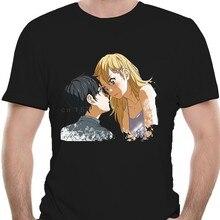 Maglietta da uomo Shigatsu wa Kimi no Uso Your lie in aprile maglietta Unisex (1) maglietta stampata tees top
