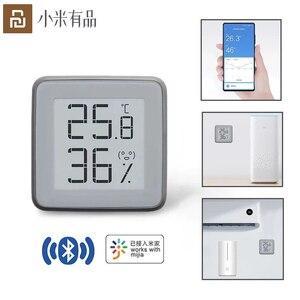 Image 2 - Xiaomi MiaoMiaoCe E Link Schermo INCHIOSTRO Digitale di Umidità del Tester Schermo LCD Ad alta Precisione di Temperatura del Termometro del Sensore di Umidità