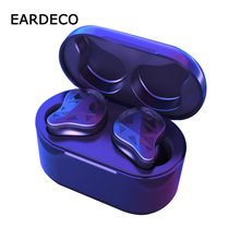 EARDECO Wahre Drahtlose Ohrhörer TWS Sport Ohrhörer Bluetooth Kopfhörer Ohrhörer In Ear Drahtlose Kopfhörer Freisprecheinrichtung Touch Kopfhörer