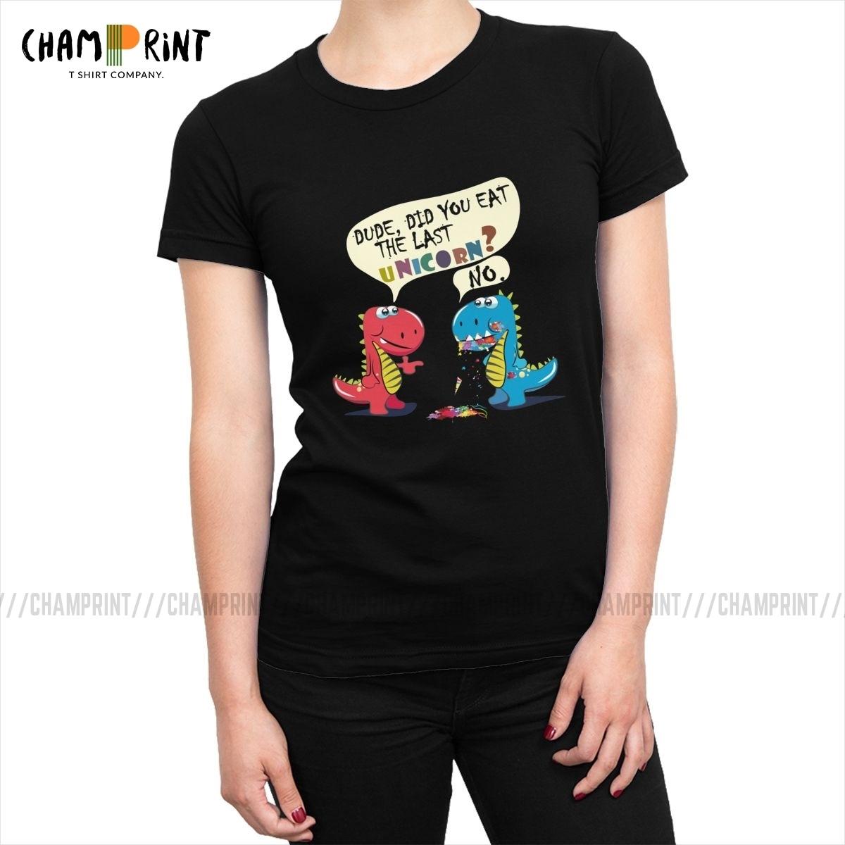 Classic T-Shirt,Fairy Unicorn Friendship Fashion Personality Customization