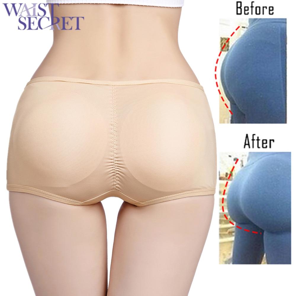 Frauen Enhancer Knickers Pad Höschen Shapewear Bum Butt Hip Booster Unterwäsche
