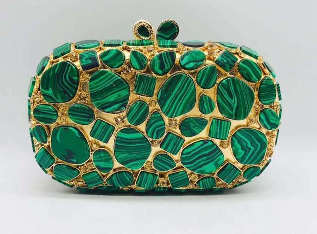Evening Crystal Exquisite Chain Shoulder Bag 1