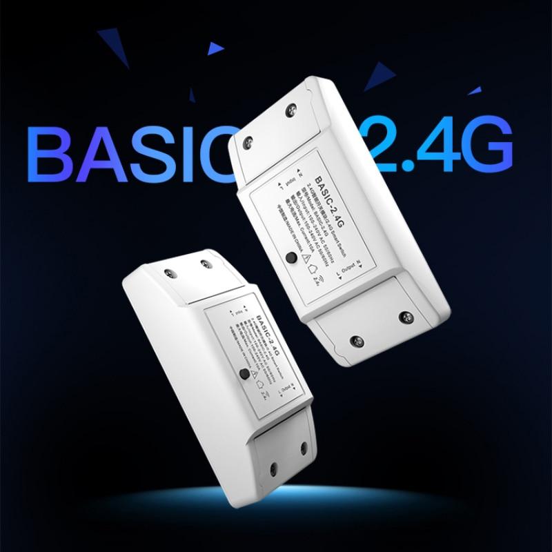 2,4G RM умный переключатель модификации модуль Bluetooth EWeLink через приложение дистанционного Управление UK BASIC-2.4G умный дом RM 2,4G Смарт-переключател...