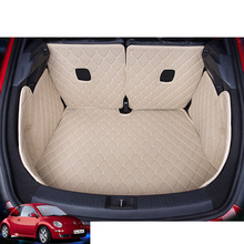 custom fit pu leather car trunk mat cargo mat for volkswagen beetle 2014 2015 2016 2017 5d cargo liner custom fit luxury pu leather car trunk mat cargo mat for toyota venza 2008 2017 5d cargo liner