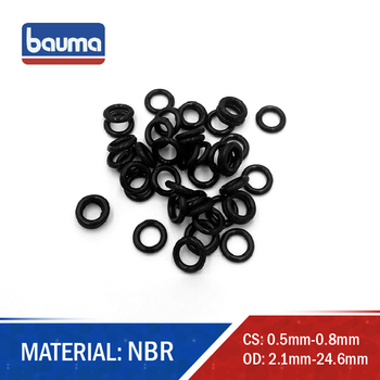 10 pcs O Ring CS 0.5 mm Thickness Nitrile Rubber O rings ID 1.1/ 5 NBR O-Ring Rubber Oil Sealing Gasket Automobile Sealing