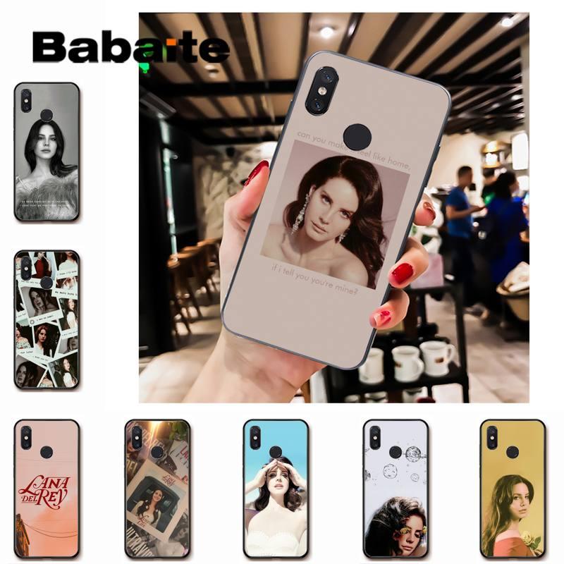 Babaite Lana Del Rey FAI DA TE Cassa Del telefono della copertura di Shell per Redmi note8Pro note5 note7 nota 8t 9 note9s note9pro xiaomi 5 9t 9 max2