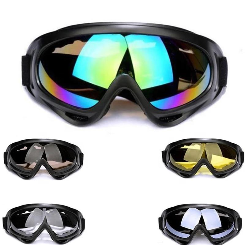 Зимние очки для зимних видов спорта, катания на лыжах, сноуборде, снегоходе, противотуманные очки, ветрозащитные пылезащитные очки UV400, солн...