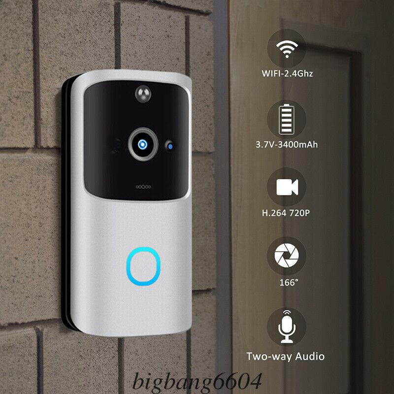 M10 Smart IP Video Intercom WI-FI Video Door Phone Door Bell WIFI Doorbell Camera For Apartments IR Alarm Wireless Security Came