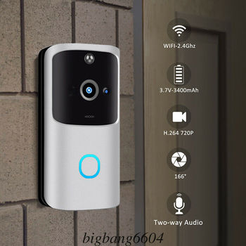 M10 Smart IP Video Intercom WI-FI Video Door Phone Door Bell WIFI Doorbell Camera For Apartments IR Alarm Wireless Security Came wi fi video smart doorbell with 2 ways audio and video sensor1280 x 720 field of view180 degree video hd 720p