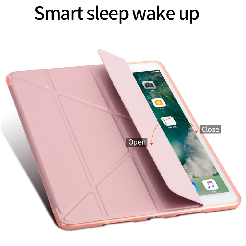 """Image 5 - TPU Case for iPad Pro 10.5"""" Air 3 2019 Protective Stand Cover Magnet Case For iPad 9.7 Case 2017 2018 5th 6th Tablet Cover+Pen-in Tablets & e-Books Case from Computer & Office"""