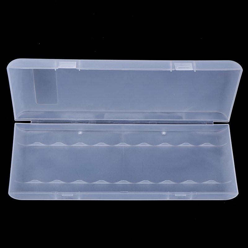 1Pc 10X18650 Battery Holder Case Organizer Container 18650 Storage Box Holder Hard Case Cover Battery Holder