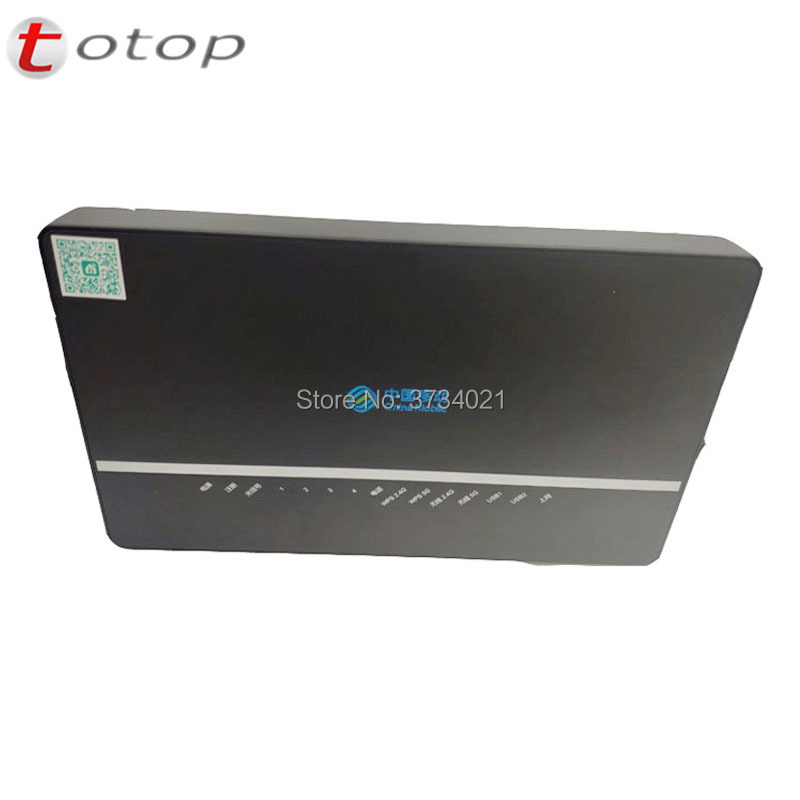 New Model Alcatel Lucent Bell G-140W-C GPON ONU ONT 4GE + 2.4G/5G Dual-band WiFi For Nokia Optical Network Terminal