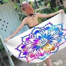 Fashion Summer Beach Towel Cotton Breathable  Water Absorption Beach+towels Toalla Playa Recznik Plazowy