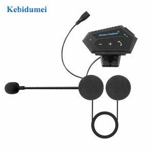 Image 5 - Kebidumeiชุดหูฟังหูฟังไร้สายใช้งานร่วมกับรถจักรยานยนต์หมวกกันน็อกสกู๊ตเตอร์พูดคุยแฮนด์ฟรี