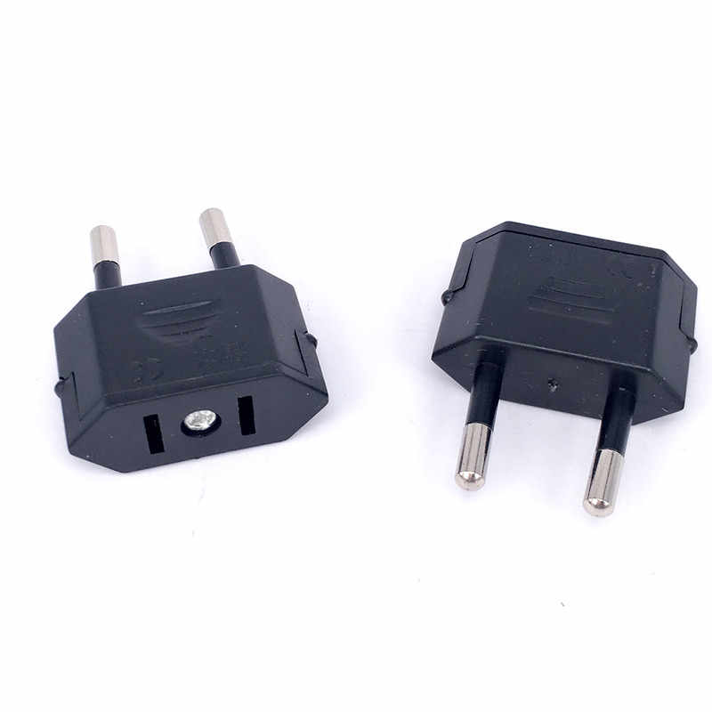 Neue CN UNS Zu EU Euro Europa Stecker Adapter 2 Runde Sockel Converter Travel Electrical Power Adapter Buchse China Zu EU Stecker