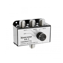 Surecom SX 3 1000W 3 Position CB Radio Coaxial Antenna Switch  Box CB27MHz Rotary Switch Switchable