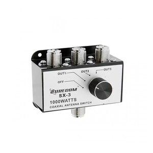 Image 1 - Surecom SX 3 1000W 3 posizioni CB Radio coassiale Antenna scatola di commutazione CB27MHz Rotary Switch commutabile