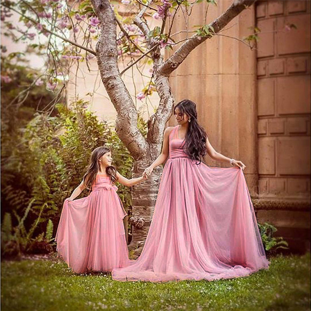 Tulle Sexy Maternity Dresses Photography Props Long Fancy Pregnancy Dress Mesh Pregnant Women Maxi Gown Clothes For Photo Shoots (6)