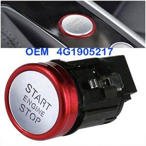 Image 1 - Die neue 4G1905217 start stop motor zündung schalter taste ist geeignet für Audi A6 A7 RS7 OEM 4G190