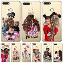 Girl luxury For huawei Y5 Y6 II Prime Nova 2 3 4 3i Plus 2018 2017 phone case Cover Coque Etui funda etui capinha capa gift cute
